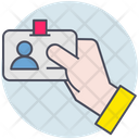 Business Id Card Identification Icon