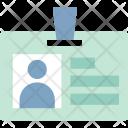 Id Card Identity Icon