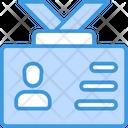 Id Card Person Icon