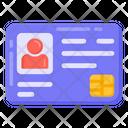 Identity Card Id Card Person Identification Icon