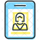 Id Card Business Icon