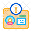 Id Card User Id Information Icon