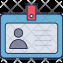 Id Card Business Card Identity Card Icon