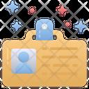 Id Card Identity Employee Icon