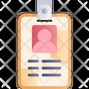 Id Card Identity Identification Icon