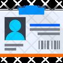 Id Card Id Identification Card Icon
