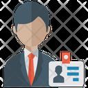 Id Card Identity Card Office Card Icon