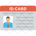 Employee Card Identity Icon