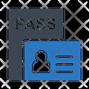 Id Badge Profile Icon