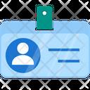 Pass Identity Id Card Icon