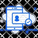 Id Verification Id Authentication Verified Identification Icon