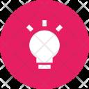 Idea Bulb Invention Icon