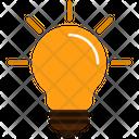 Idea Light Bulb Electricity Icon