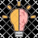 Idea Innovation Lamp Icon