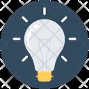 Idea Bulb Illuminate Icon