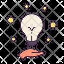 Idea Light Bulb Creative Icon