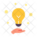 Idea Light Bulb Creative Icon