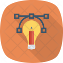 Idea Bulb Business Icon