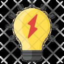 Idea Lightbulb Innovation Icon