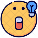 Idea Emot Emoji Icon