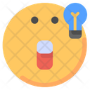 Idea Emot Emoji Icon