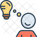 Idea Creative Brainstorming Icon