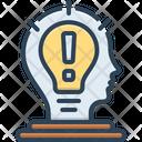 Idea Consideration Scheme Icon