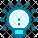 Idea Lamp Bulb Icon