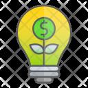 Invest Startup Idea Icon