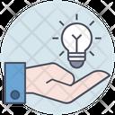 Business Idea Bulb Icon