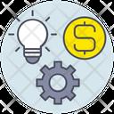 Business Idea Earn Icon