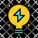 Idea Innovation Flash Icon