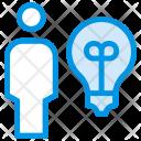Idea Person Creativity Icon