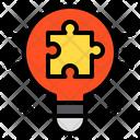 Jigsaw Lamp Idea Icon