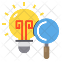 Idea Bulb Light Icon