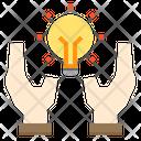Knowledge Idea Hand Icon