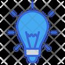Idea Lamp Light Icon