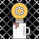 Idea Coffee Refreshment Icon