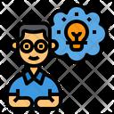 Idea Thinking Creativity Icon