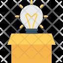 Idea Invention Creative Icon