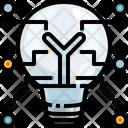 Light Bulbs Idea Thinking Icon