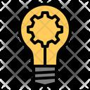 Idea Bulb Gear Best Good Seo Web Seo Web Icon