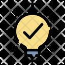 Idea Lightbulb Ideas Icon