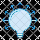 Idea Lamp Bright Icon