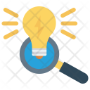 Idea Search Light Icon