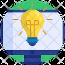 Education Bulb Idea Icon
