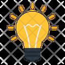 Idea Innovation Lightbulb Icon