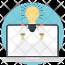 Startup Bulb Idea Icon