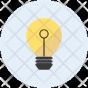 Idea Lightbulb Light Icon