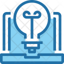 Idea Laptop Process Icon